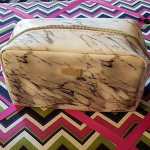 tarte White, Black & Grey Marble Makeup Bag 👝